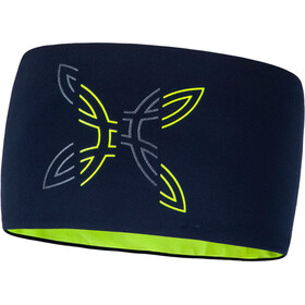 Montura Segment Light Headband blue notte/giallo